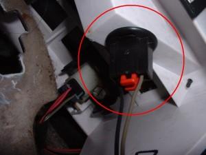 gear selector bulb socket
