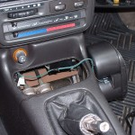 Cupholders pulled out