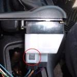 Right side window switch plug